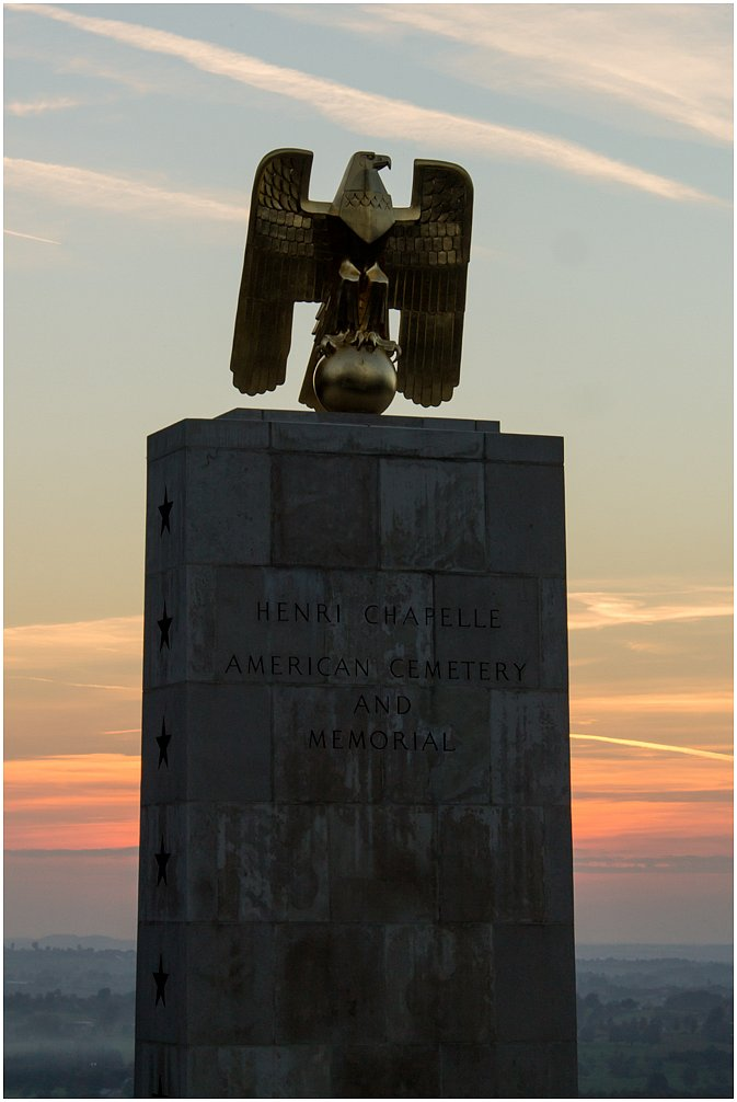 Amerikanischer Friedhof - Henri-Chapelle